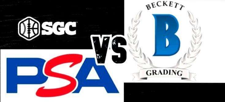 Psa grading vs beckett grading vs sgc grading massive