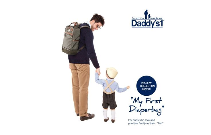 Daddy's 1 Diaper Bag is user-friendly, gender-neutral and trendy. It keeps you in style with a selection of classic, casual and dandy designs. You no longer have to hesitate when leaving home with Daddy's 1, where function meets style. Available at www.kidsberry.com.au