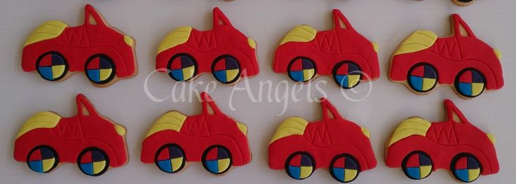 Wiggles Big Red Car Cookies