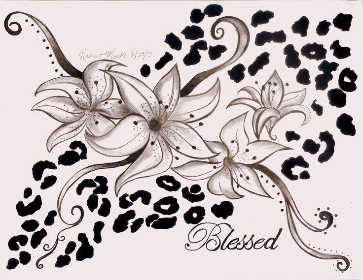 cheetah print tattoo ideas - Google Search