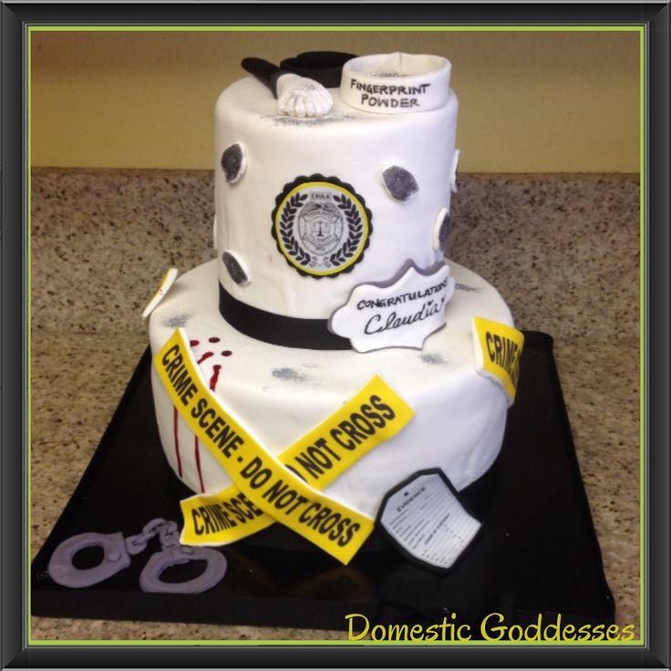 Criminal Justice Cake CSULA
