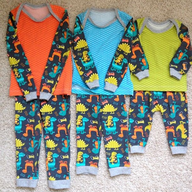 best pajama pattern Ive ever used! easy with great finished fit!