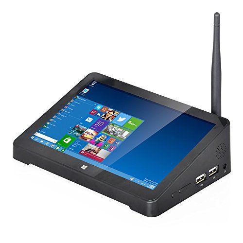 F2 intel mini pc for tv boxdual boot mini pcdesktop mini pc windows 10 touchscreen 7inch HD and tablet pc Android  mini pc hdmi wifi bluetooth with intel mini pc 2GB RAM 64GB ROM