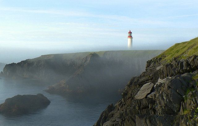 Cape Race Lighthouse by Newfoundland and Labrador Tourism, via Flickr