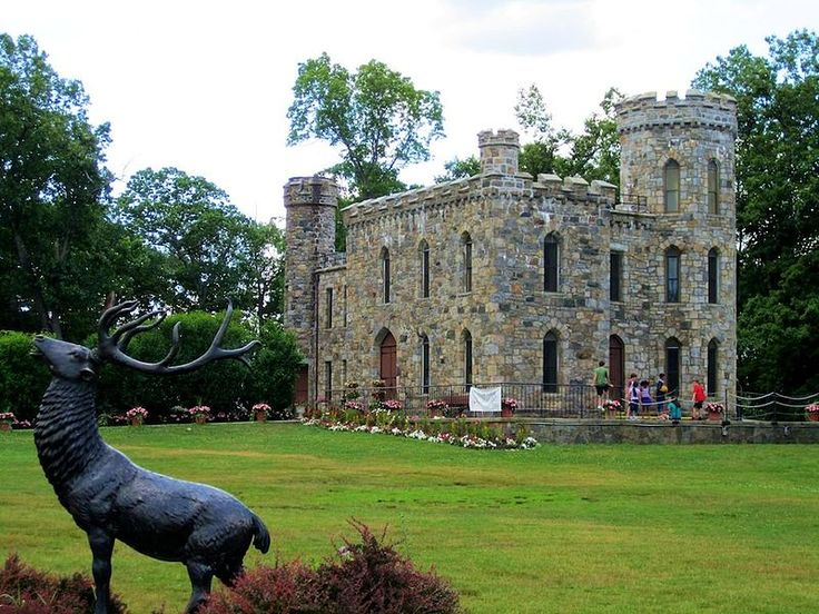 Winnekenni Castle in Haverhill, Massachusetts.