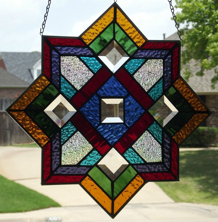 180 best stain glass images on Pinterest   Stained glass, Fused ...
