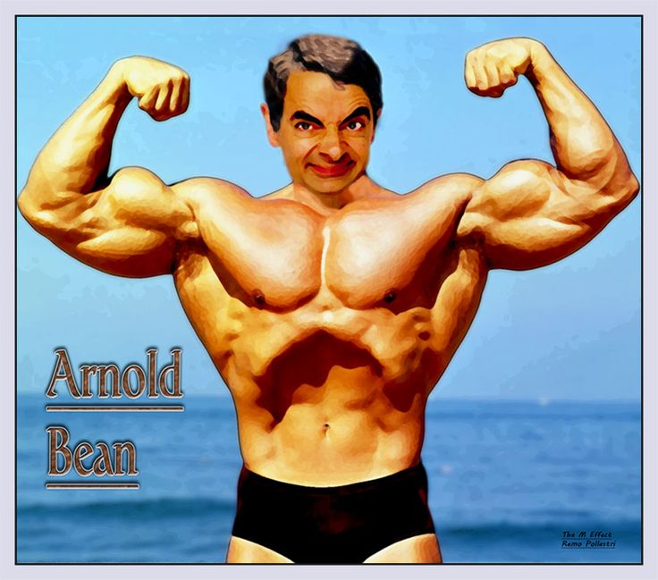 The Mr Bean Collection Schwarzenegger Bodybuilding