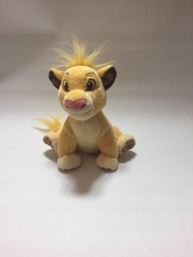DISNEY LION KING 19CM SIMBA SOFT PLUSH TOY disney store in Toys & Games, TV & Film Character Toys, Film & Disney Characters | eBay