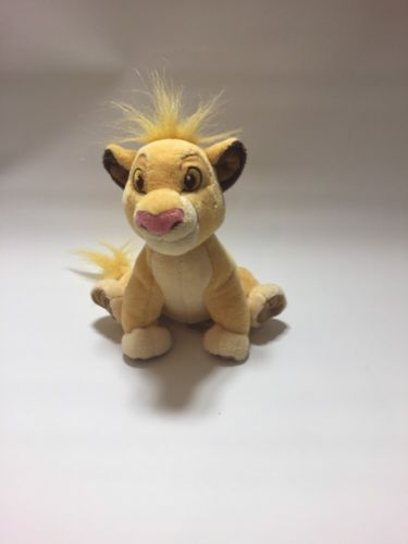 DISNEY LION KING 19CM SIMBA SOFT PLUSH TOY disney store in Toys & Games, TV & Film Character Toys, Film & Disney Characters | eBay