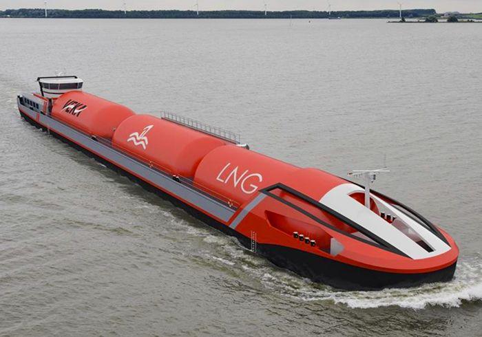VEKA Group, DEEN Shipping Reveal Inland LNG Carrier Ship Design