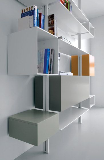 System SY04 by Extendo   Office shelving systems