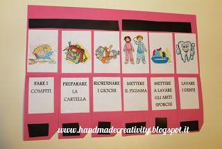 Come organizzare la routine quotidiana dei bambini | Handmade Creativity