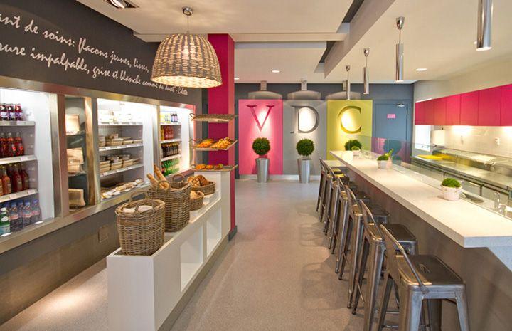 Vie de Chateaux restaurant by Millimetre design, Naas   Ireland store design