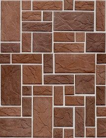 Textures Texture seamless | Wall cladding stone texture seamless 19007 | Textures - ARCHITECTURE - STONES WALLS - Claddings stone - Exterior | Sketchuptexture
