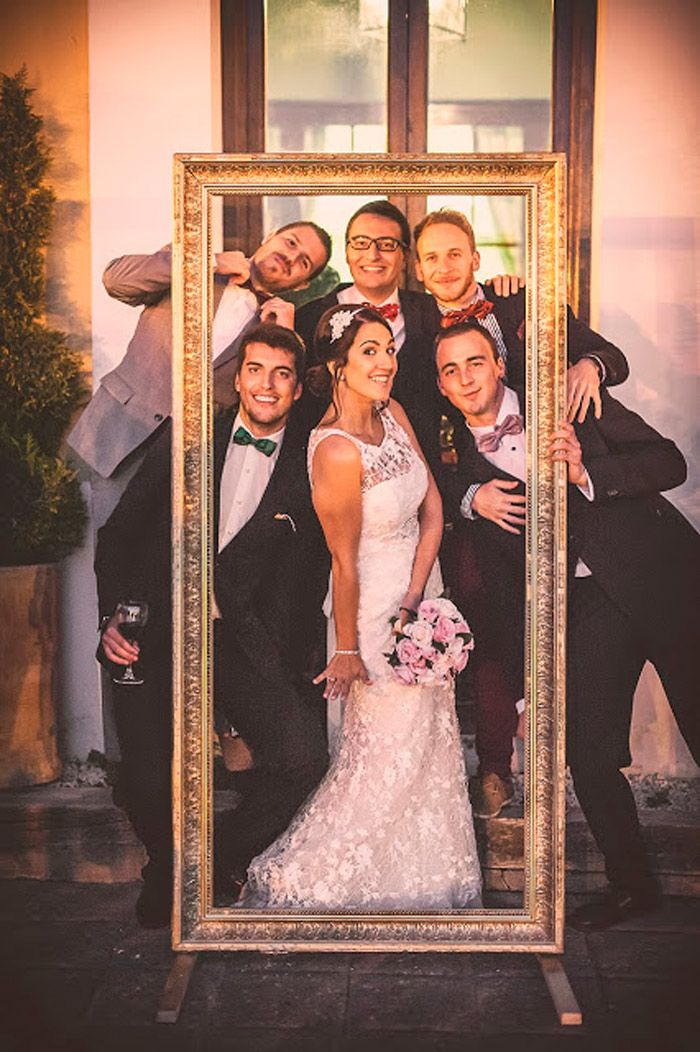 Los photocalls de boda más originales y divertidos – grandes ideas