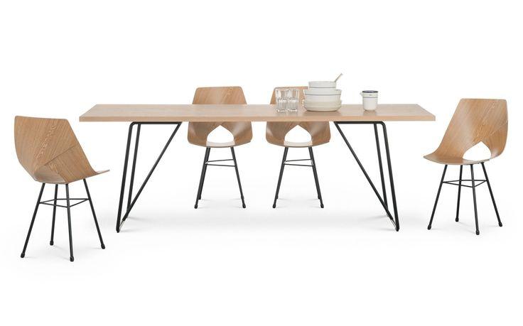 Limi chair, front table, design Tapio Anttila