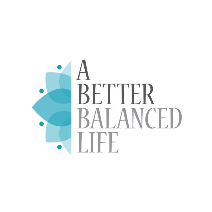 A Better Balanced Life - Logo / Identity Kelly Nyvoll  A company offering alternative healing therapies. They are certified in and practice reiki, raindrop therapy and angel oracle card reading.