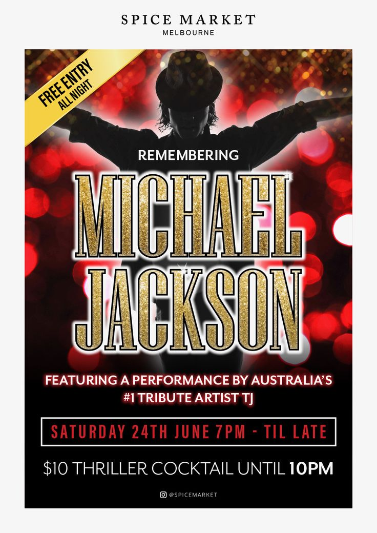 Performing a solo guest spot this Saturday night at Spice Market's Remembering Michael Jackson to mark the 8th anniversary of MJ's sad passing. Shows at 11pm and 11.15pm.