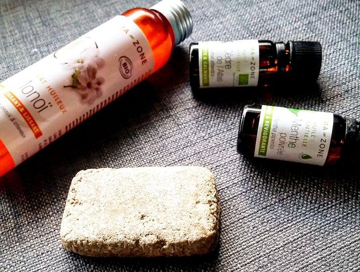 Mon shampoing solide nourissant anti-chute : une recette simple et efficace anti chute, pour laver les cheveux tout en douceur et les nourrir en même temps