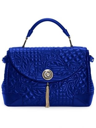 2012 Fallwinter  Blue  Fall 2012  All Quilt  Leather Bags  2012Vip Travel Bags 2012