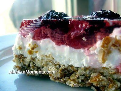 Berry Pretzel Dessert. Such an old faithful recipe. Some ...