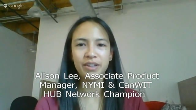 Ms Lee was active in Women in STEM initiatives as a student leader at Waterloo and U of T. Now as a young professional and Product Manager at NYMI,  she volunteers with Ladies Learning code, and for whatever opportunities arise, like iCreate.   As a CanWIT HUB Champion her focus in Toronto will be to reach out to students and recent grads, as part of spreading CanWIT's mentorship channel and career resources to that demographic of aspiring women in tech.