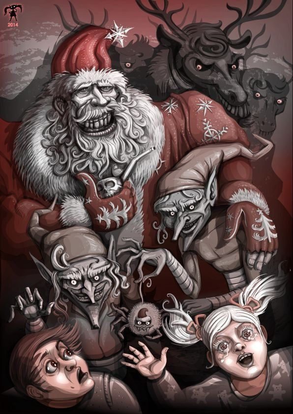 merry christmass ho-ho, Tomoko Yoichi on ArtStation at https://www.artstation.com/artwork/merry-christmass-ho-ho