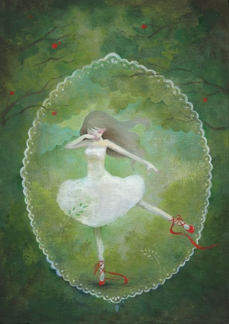 """Eriko Kurita (In the Pocket), """"赤い靴"""" (""""The Red Shoes""""). Oh, love."""