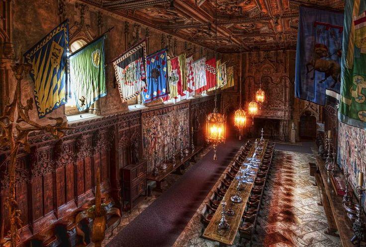 Hearst Castle dinning area The Hearst Castle
