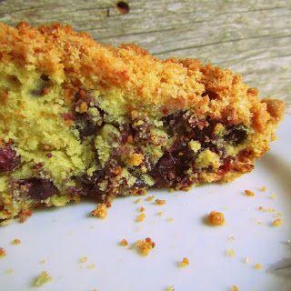 Светлинки от Даши: Простые домашние рецепты - Пирог с ягодами по рецепту Таши Тюдор (готовила в аэрогриле)