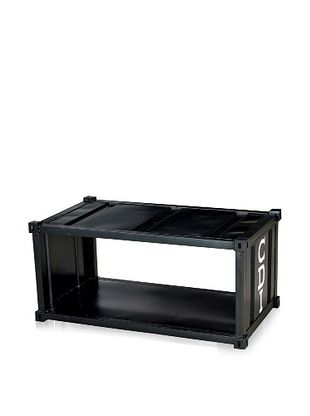 CDI Container Style Coffee Table, Black