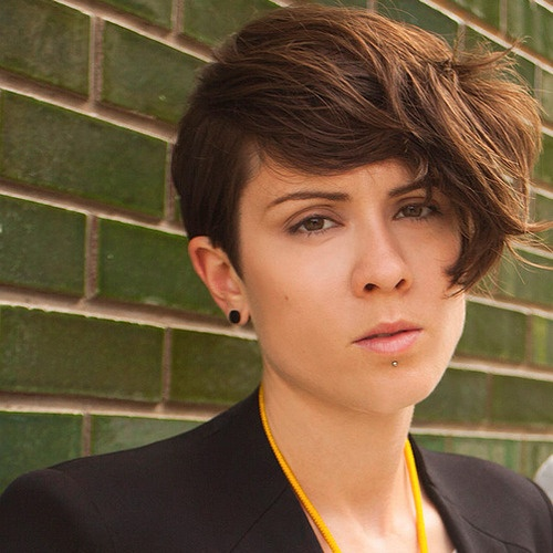 Tegan And Sara Haircuts: Tegan Quin. God The Look On Her Face....I Can't.
