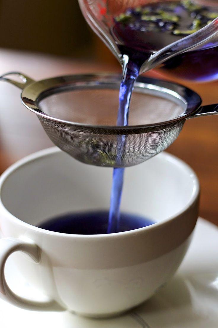 Blue Chai Tea