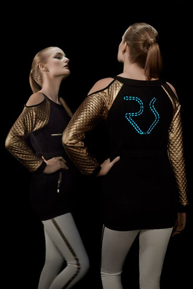 #ranitasobanska #LED #photo #session #sportfashion #new #technology #rs #new #trend #ss15 #newcollection