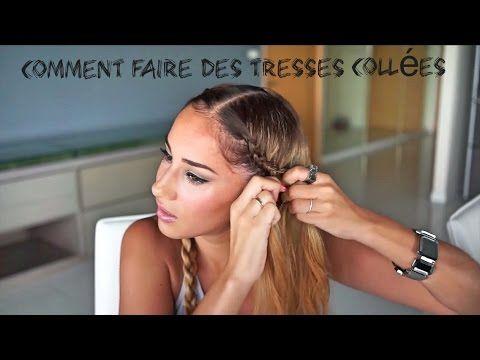 Comment Faire Des TRESSES Collées + Bloopers - YouTube