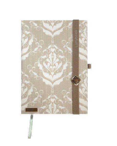 Lanybook modern barok notitieboek   #mylovelynotebook http://www.mylovelynotebook.nl