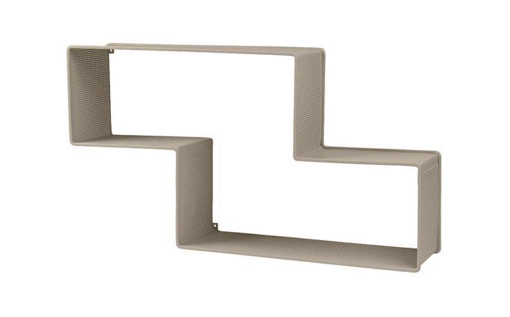 GUBI // Dedal shelf in sand by Mathieu Matégot