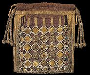 Grizel's Bead Pages - 11th C. reliquary bag