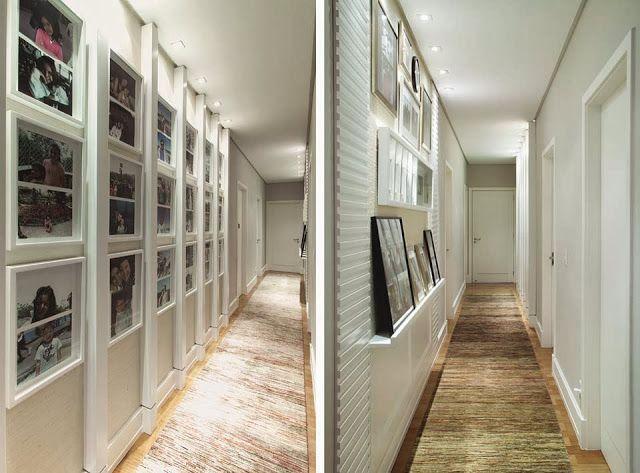 Corredores decorados – veja modelos e dicas para deixar seu corredor lindo! - Decor Salteado - Blog de Decoração e Arquitetura