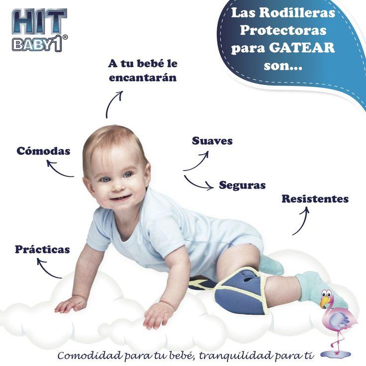 """Rodilleras Protectoras para Gatear. """"TODOTERRENO"""" Es uno de los productos para bebés más novedosos, prácticos, e imprescindibles ya que protegen a tu bebé de posibles daños en esta etapa tan fundamental para su desarrollo, aportado tranquilidad a las mamás, a la vez que estimulan el desarrollo psicomotor del bebé.  Protegen las rodillas de tu bebé. Son cómodas para tu bebé. Seguras para tu #bebé. Suaves. Resistentes. Prácticas. #gateo #gatear #protección"""
