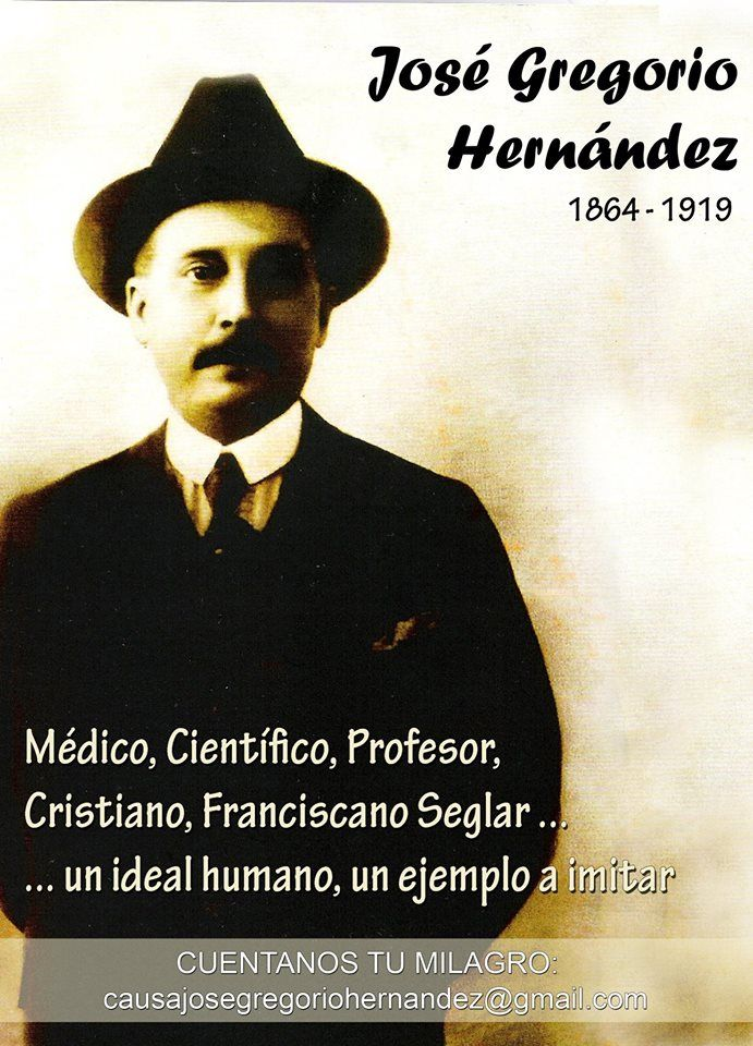 Celebramos los  150 años  de nuestro hermano Franciscano José Gregorio Hernández