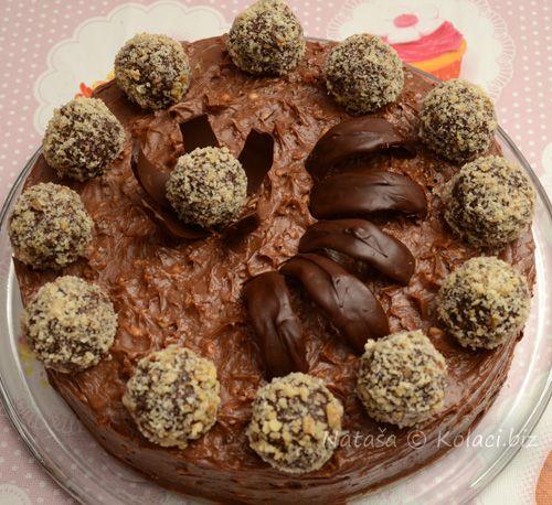 Ferrero torta savršenog okusa idealna za dječje rođendane