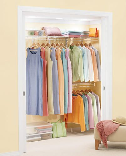 4u0027 8u0027 Freeslide Closet Organizer Kit At Menards