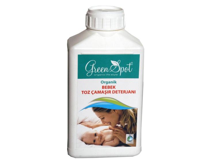 Green Spot Organik Bebek Toz Çamaşır Deterjanı