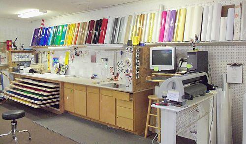 Sign Shop Layout Sign Shop Ideas Pinterest Vinyls
