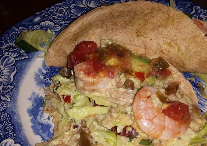 Spicy Tequila Lime Shrimp Tacos Recipe - Let's cook Spicy Tequila Lime ...