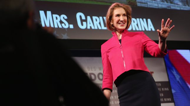 'Higher than 90 percent' chance Carly Fiorina will run for president - Provided by The Hill