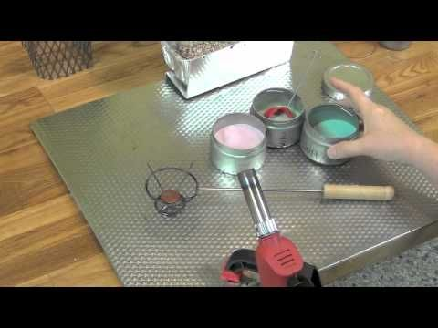 HOW TO USE THE TORCHING BASKET AND HANDLE - Videos : Painting with Fire Studio, LLC. - Supporto in metallo per la smaltatura