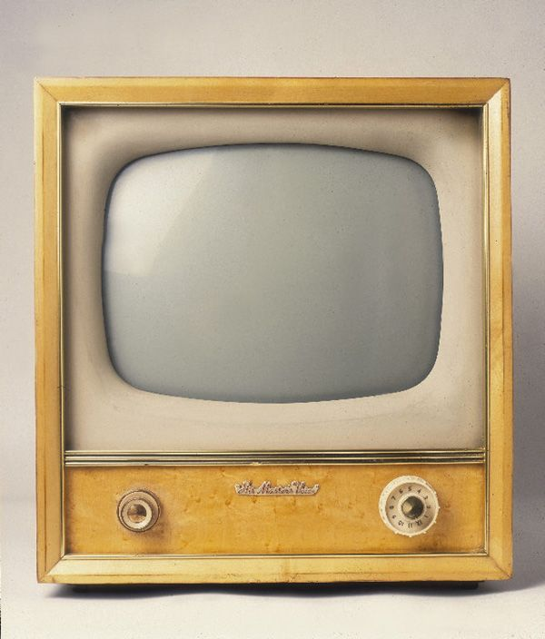 Gorgeous old television
