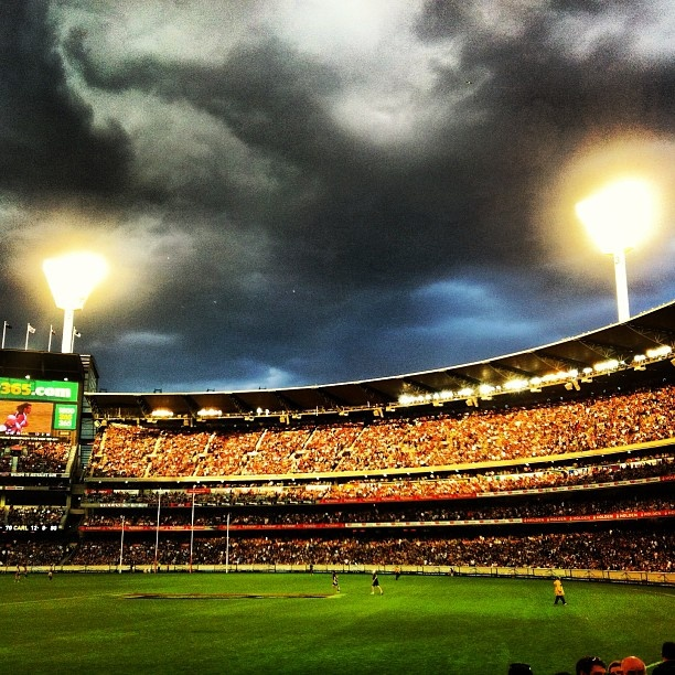 If you haven't been to the MCG - you haven't been to Melbourne. Try to catch a football game on a Friday night. Click through to see what is on.